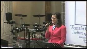 """Daniela Delibas - Conferinta Nationala a Femeilor - """"Femeia care mutā muntii"""" - sesiunea"""